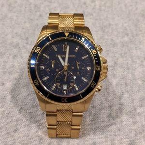 Women's MK 5438 Casual Classic Blue Dial Watch